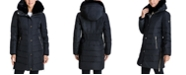 Michael Kors Faux-Fur Collar Down Puffer Coat, Created for Macy's
