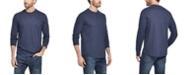 Weatherproof Vintage Men's Long Sleeve Brushed Jersey Crew T-shirt