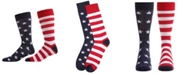 MeMoi Stars and Stripes Women's Crew Socks