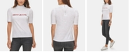 DKNY Jeans Cotton Mock-Neck T-Shirt
