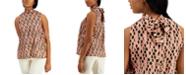 Marella Silk Printed Top
