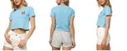 O'Neill Juniors' Spirit Animal 2 Cotton Cropped T-Shirt