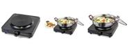 HomeCraft HCSB75BK Single Burner Hot Plate