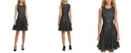 Tommy Hilfiger Metallic Leopard Lace Dress