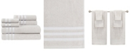 Caro Home Sabina Low Twist Towel Set, 6 Pieces