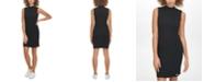 Calvin Klein Jeans Sleeveless Mock-Neck Sweater Dress