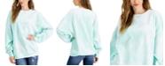Belle Du Jour Juniors' Tie-Dyed Oversized Sweatshirt