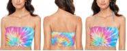Salt + Cove Tie-Dyed Ruffled Bikini Top, Created for Macy's