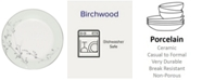 """Noritake Dinnerware, 9"""" Birchwood Accent Plate"""