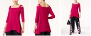 Alfani Knit High-Low Tunic, Created for Macy's