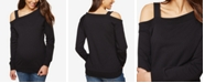 Motherhood Maternity Cold-Shoulder Sweatshirt