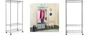 Safavieh Gordan Chrome Wire 3-Tier Garment Rack