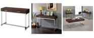 Furniture of America Romano Brown Sofa Table