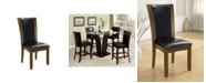 Furniture of America Waverly Dark Cherry Side Chair (Set of 2)