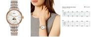 Rado Women's Swiss Coupole Classic Two-Tone PVD Stainless Steel Bracelet Watch 34mm