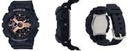 G-Shock Women's Analog-Digital Black Resin Strap Watch 43.4mm