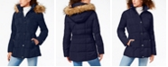 Tommy Hilfiger Faux-Fur Trim Hooded Puffer Coat, Created for Macy's