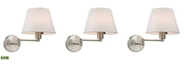 ELK Lighting Avenal Collection 1 light swingarm WALLSCONCE in Brushed Nickel