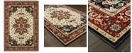 "Oriental Weavers Kashan 96W Red/Ivory 7'10"" x 10'10"" Area Rug"