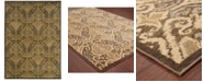 """Oriental Weavers CLOSEOUT!  Casablanca 4464A Green/Ivory 1'10"""" x 3'3"""" Area Rug"""