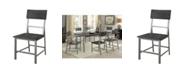 Furniture Belca Industrial Side Chair (Set of 2)