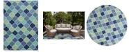 Kas Harbor Stella 4231 Blue Indoor/Outdoor Area Rug