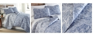 Southshore Fine Linens Boho Paisley Lightweight Reversible Quilt and Sham Set, King/California King