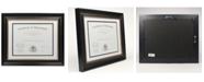 "Lawrence Frames Dual Use Black Beaded Document Frame - 11"" x 14"""