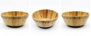 BergHOFF Bamboo Two-Tone Salad Bowl