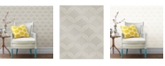 """Brewster Home Fashions Petals Ogee Wallpaper - 396"""" x 20.5"""" x 0.025"""""""