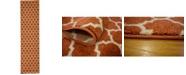 "Bridgeport Home Arbor Arb1 Light Terracotta 2' 7"" x 10' Runner Area Rug"