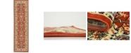 """Bridgeport Home Arnav Arn1 Terracotta 2' 7"""" x 10' Runner Area Rug"""