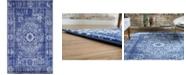Bridgeport Home Wisdom Wis3 Royal Blue 5' x 8' Area Rug