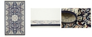 Bridgeport Home Zara Zar5 Navy Blue 3' x 5' Area Rug