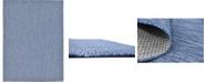 Bridgeport Home Pashio Pas6 Navy Blue 9' x 12' Area Rug