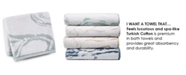 "Hotel Collection 13"" x 13"" Marble Turkish Cotton Fashion Wash Towel, Created for Macy's"