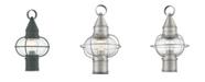 "Livex CLOSEOUT!   Newburyport 1-Light 15"" Post Lantern"