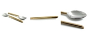 Vibhsa Golden Cut Hammered Tablespoons - Set of 6