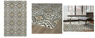 "Kaleen Nomad NOM05-38 Charcoal 3'6"" x 5'6"" Area Rug"