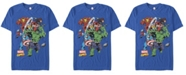 Marvel Men's Comic Collection The Mighty Five Short Sleeve T-Shirt