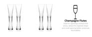 Godinger Novo Finley Flutes - Set of 2