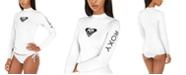 Roxy Juniors' Whole-Hearted Long-Sleeve Rash Guard
