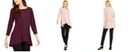 Alfani High-Low Tunic, Created for Macy's