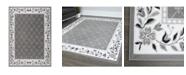 "Global Rug Designs Global Rug Design Loma LOM04 Gray 7'8"" x 10'7"" Area Rug"