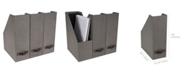 Bigso Box of Sweden Estelle Magazine File, Set of 3