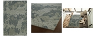 "Kaleen Ceneri CEN02-68 Graphite 5' x 7'9"" Area Rug"