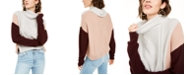 BCX Juniors' Colorblocked Knit Sweater