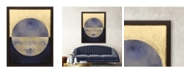 """Paragon Picture Gallery Paragon Blue Sphere II Framed Wall Art, 53"""" x 41"""""""