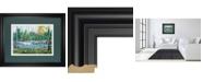 "Classy Art Extounge Rapids by G. Forsythe Framed Print Wall Art, 34"" x 40"""