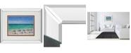 "Classy Art South Shore I by Dominick Mirror Framed Print Wall Art, 34"" x 40"""
